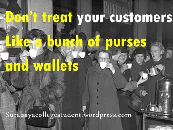customers wallets
