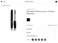Before and After Giordani Gold Volumizing Mascara (Photos)