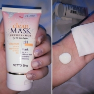 Review : Viva White Clean Mask All Skin Types